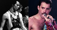 O baixista Sid Vicious e o cantor Freddie Mercury - Wikimedia Commons / Getty Images