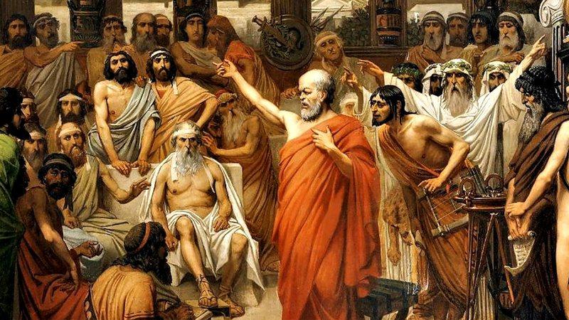 Resultado de imagem para Sócrates