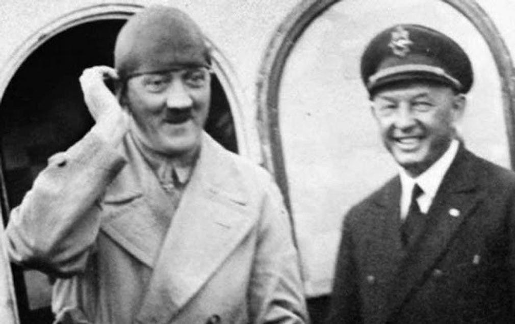 Estas são as fotos de Hitler que ele tentou apagar da História