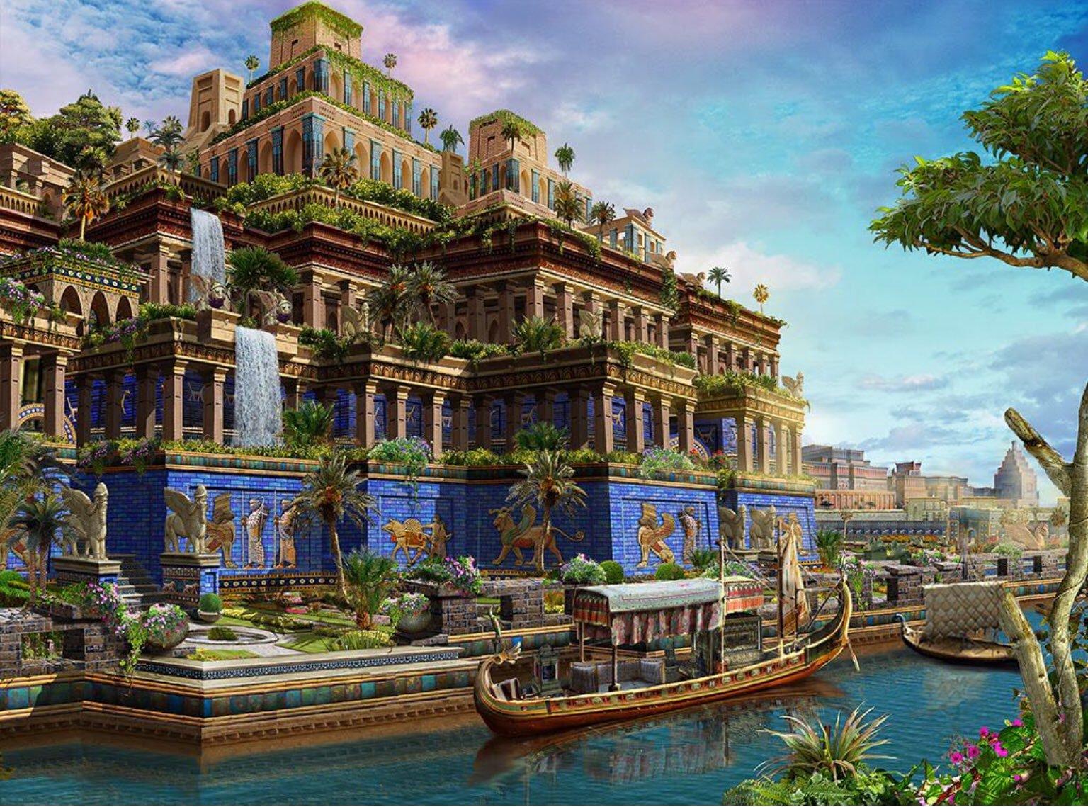 Aventuras na História · Perto dos deuses: conheça os impressionantes  zigurates da Babilônia