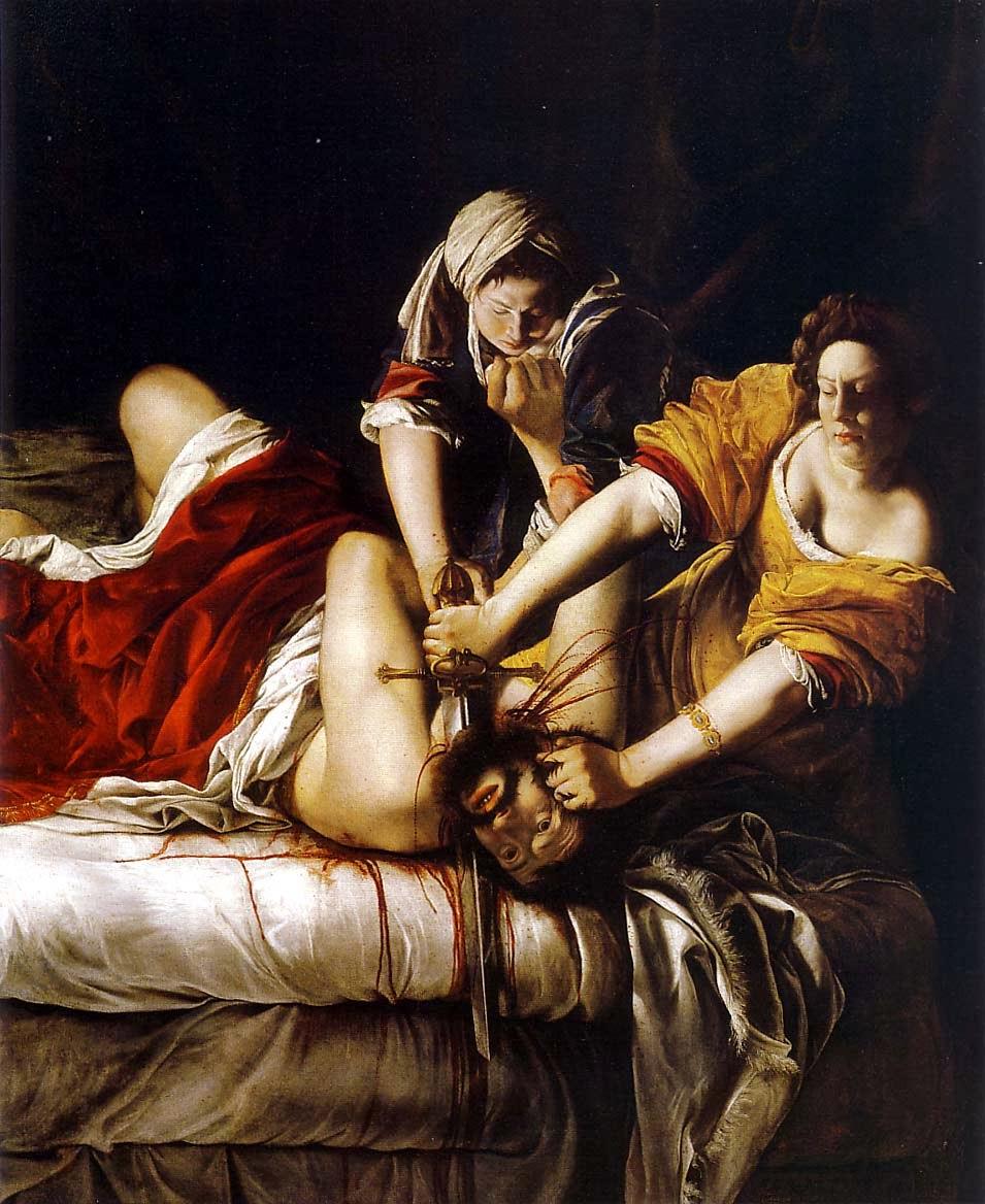 Aventuras na História · Artemisia Gentileschi: a artista que vingou-se de  seu estuprador através de uma pintura