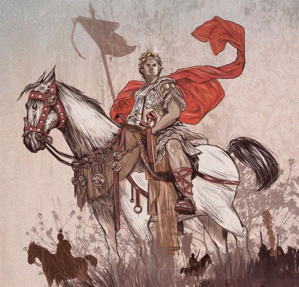 Como uma guerra civil mudou os caminhos do Império Romano