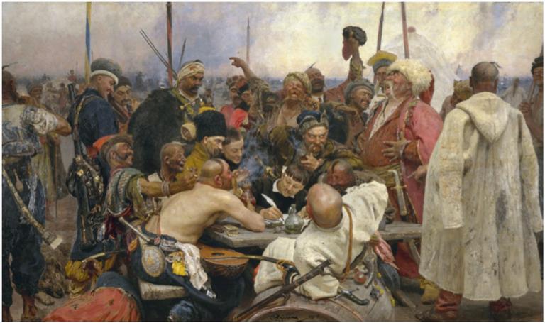 Quadro os cossacos