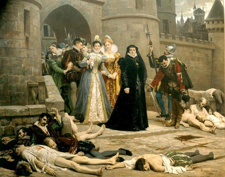 Resultado de imagem para noite de sao bartolomeu e reforma protestante