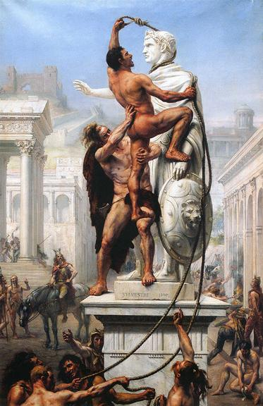 Visigodos saqueiam Roma