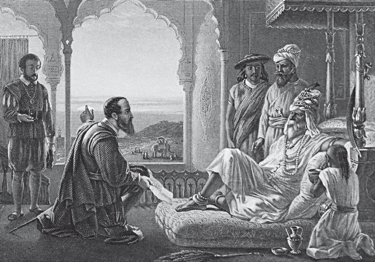 Vasco da Gama foi o primeiro português a estabelecer contato com a Índia, em 1498