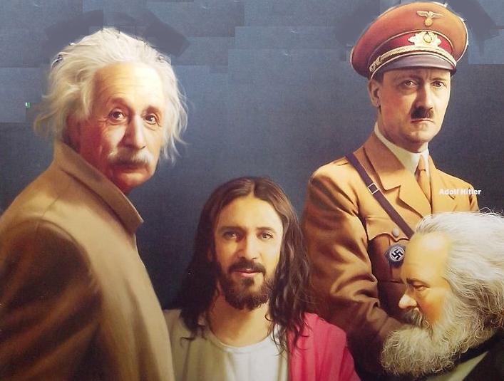 Jesus, Hitler, Marx e Einstein: mudar pode ser para pior | <i>Crédito: Arquivo AH