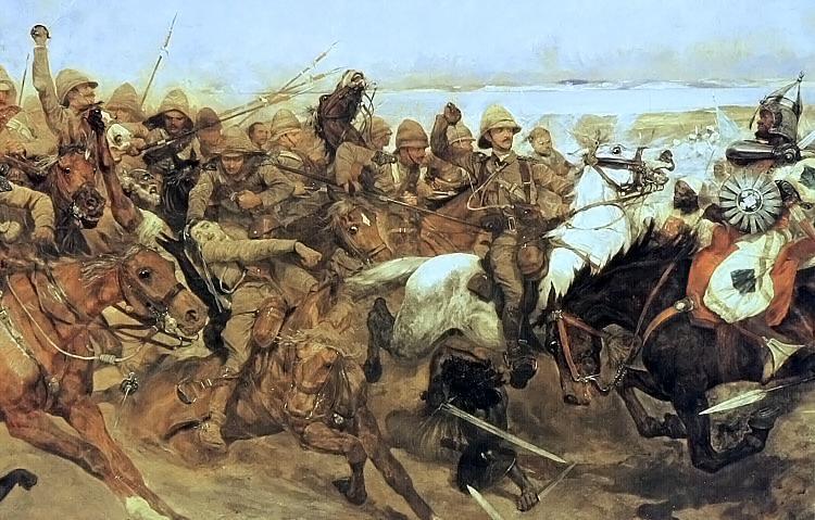 Batalha de Omdurman | <i>Crédito: Domínio Público