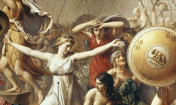 Quadro mostrou um lado mais suave da fundação de Roma