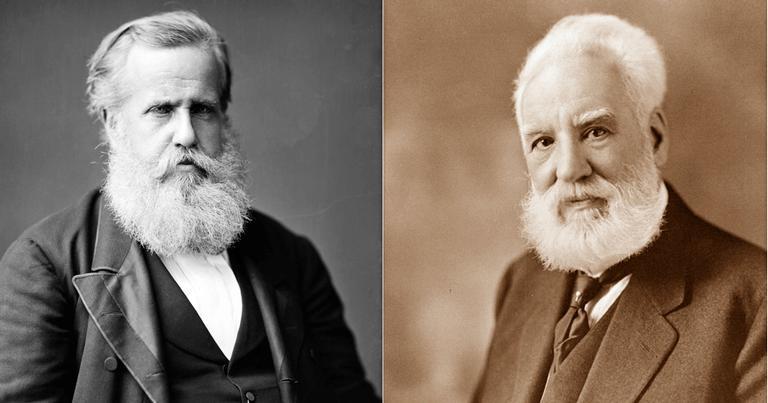 D. Pedro e Graham Bell: uma amizade crucial | <i>Crédito: Domínio Público