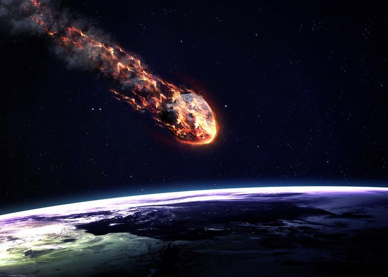 Impacto de meteoro gigante | <i>Crédito: Shutterstock