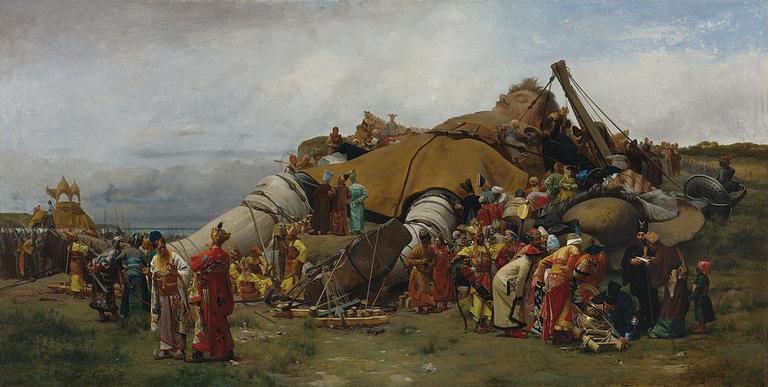 A cena mais famosa em ilustração do século 19