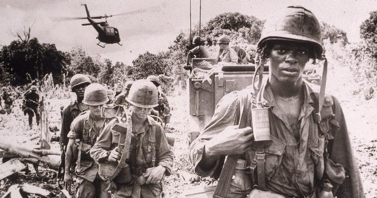 Soldados americanos: moral baixo