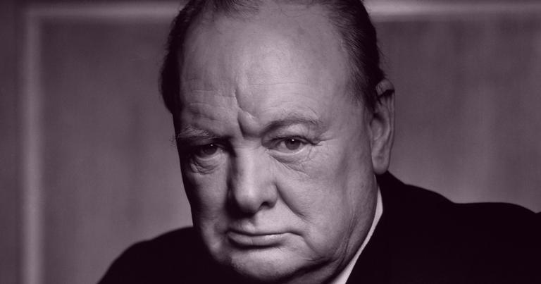 O fotógrafo conseguiu o que Hitler não havia: tirar Churchill do sério