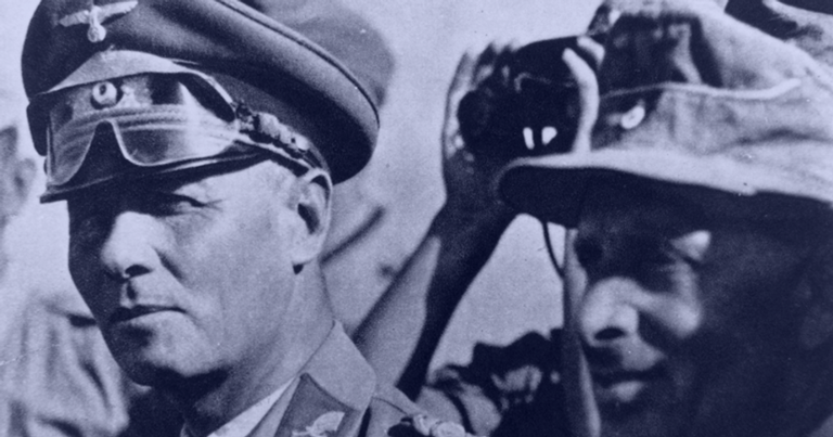 Erwin Rommel no Norte da África | <i>Crédito: Getty Images