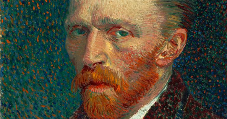 Autorretrato do sofrido Van Gogh