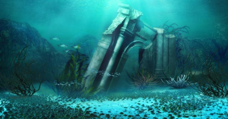 Ruínas submersas são sempre um achado espetacular