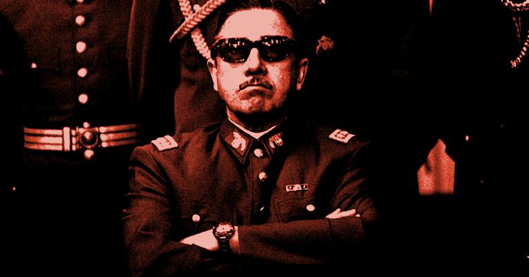 O ditador em 1973