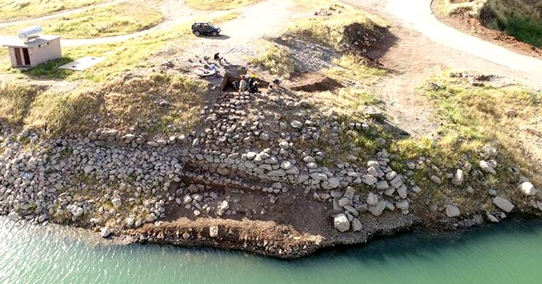O local estava em baixo da areia por mais de 2 mil anos