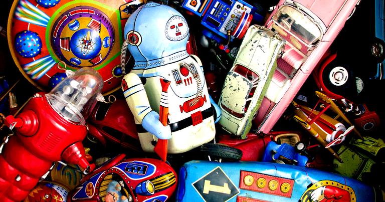 Brinquedos dos anos 1950