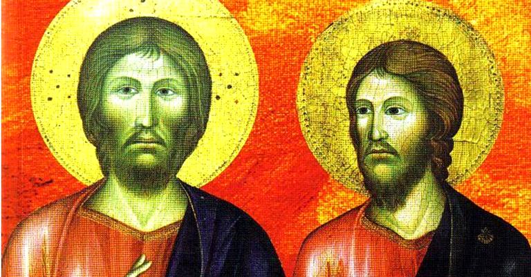 Jesus e o seu irmão Tiago