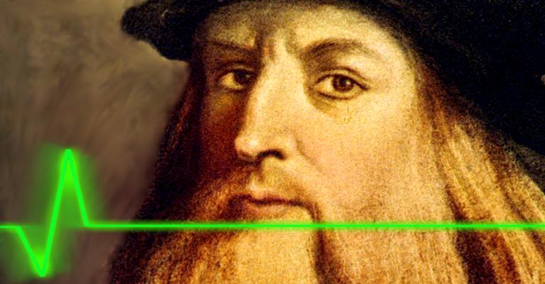 Leonardo foi épico em sua modéstia