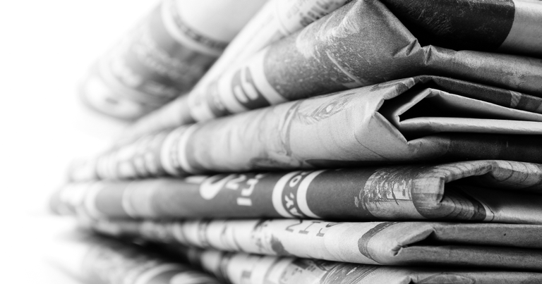 Os jornais surgiram apenas no século 18