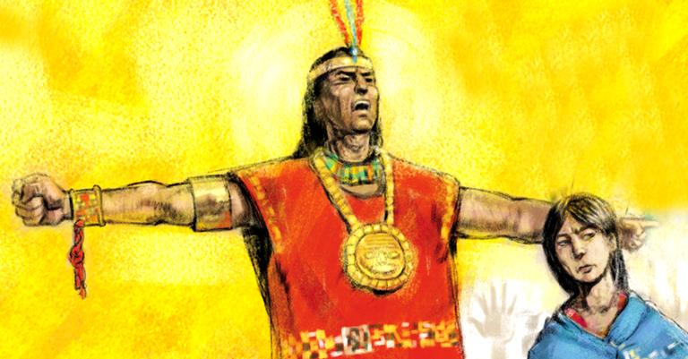 Túpac declarou o fim dos impostos e da escravidão