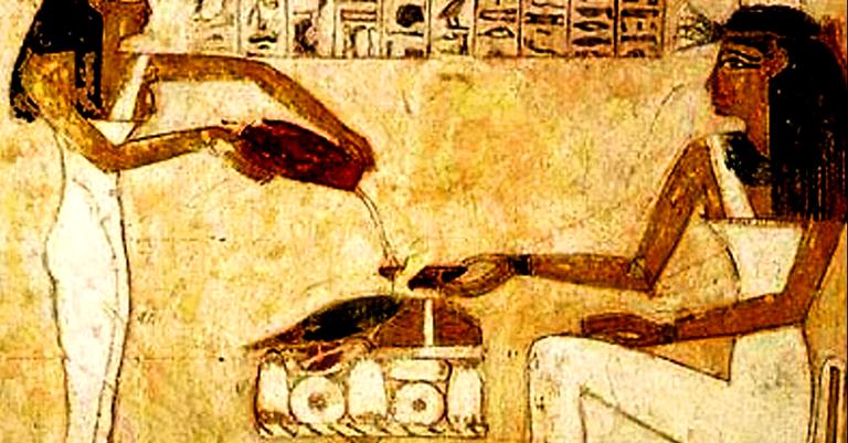 Um drinque de 5 mil anos eternizado