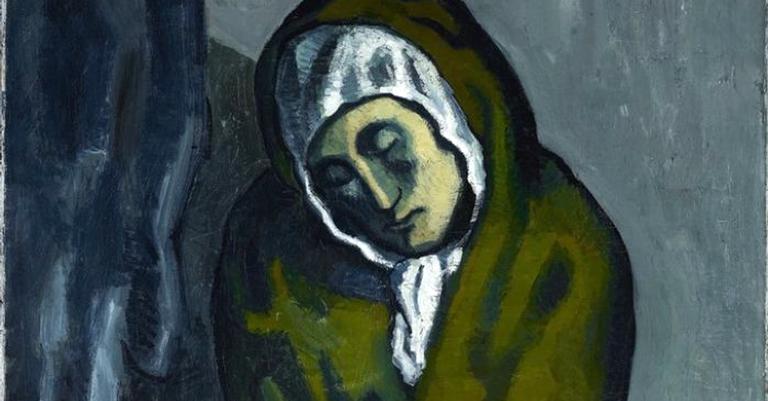 A obra La Misereuse Accroupie ('O Mendigo Agachado'), de 1902