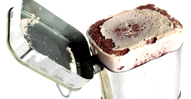 Esta aqui é só carne enlatada mesmo... ou será?