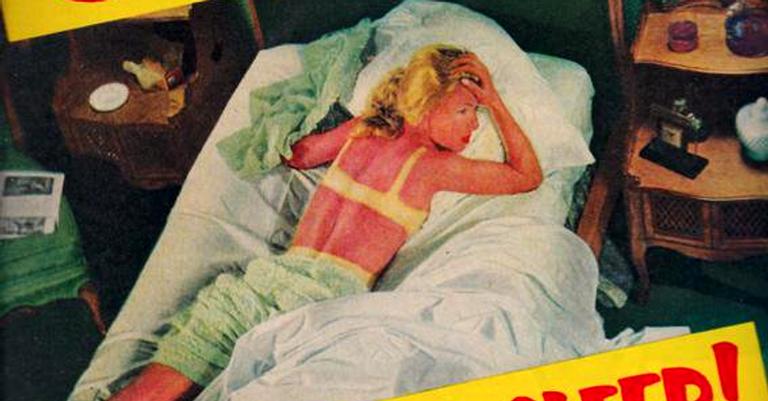 Antiga propaganda de protetor solar
