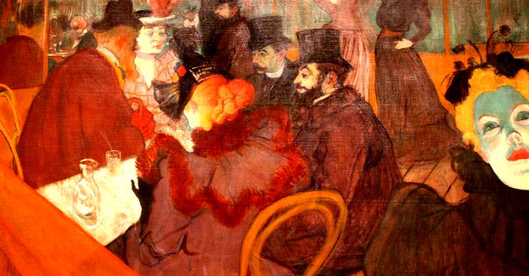 'No Moulin Rouge', de 1892