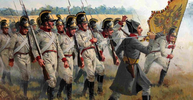 Exército austríaco em ação
