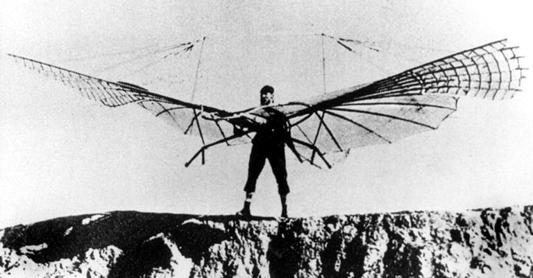 Otto Lilienthal, um dos grandes percussores