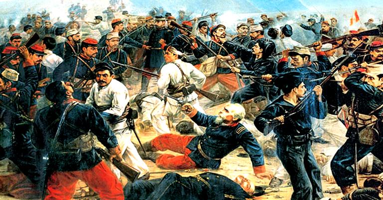 A Batalha de Arica