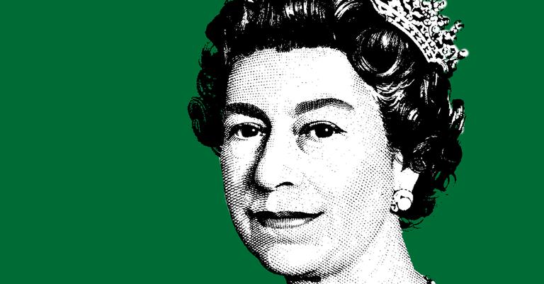 A rainha e o verde do Islã: relação?