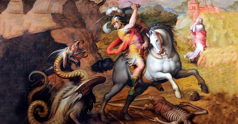 Sobre o dragão não há dúvidas, mas será que o santo existiu?