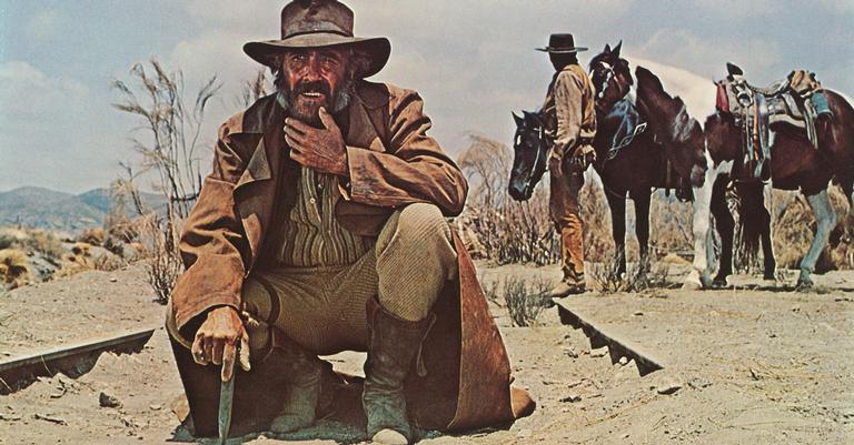 Cena do filme Era Uma Vez no Oeste, de 1968