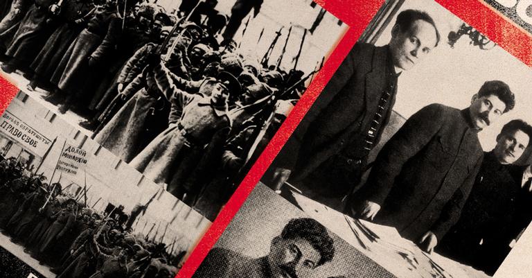 O líder soviético alterou o passado por meio da manipulação fotográfica