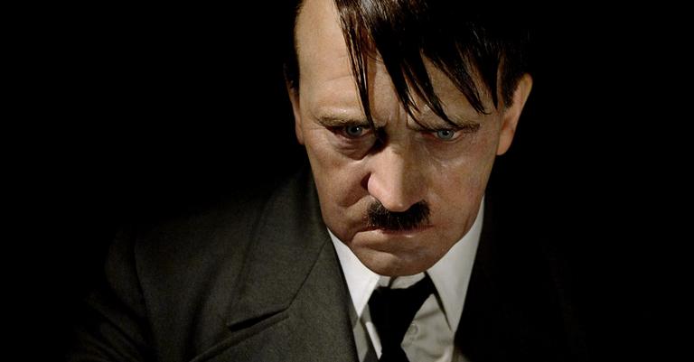 Estátua de cera de Hitler no museu Madame Toussauds em Berlim