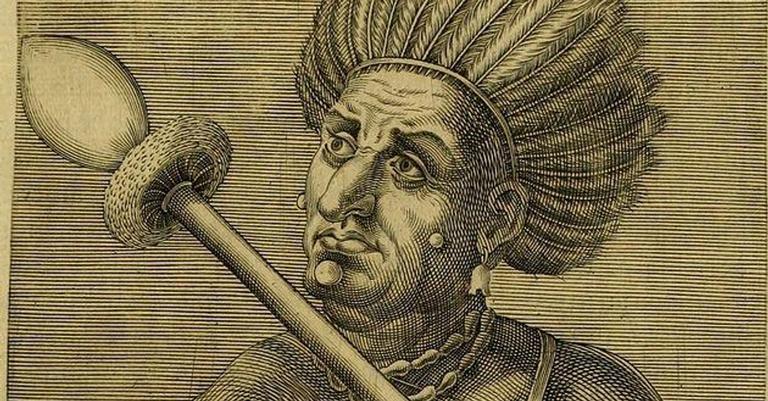 O cacique tupinambá Cunhambebe lutou contra os portugueses e seus aliados tupiniquins, que acabariam se integrando completamente, salvo um pequeno grupo