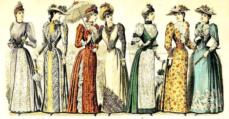 Moda da Era Vitoriana: apertada e sem bolsos