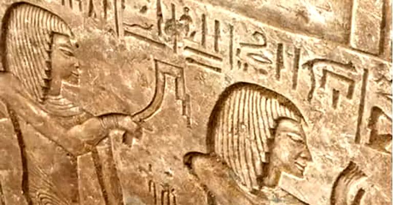 Baixo-relevo na tumba do general Iwrhya