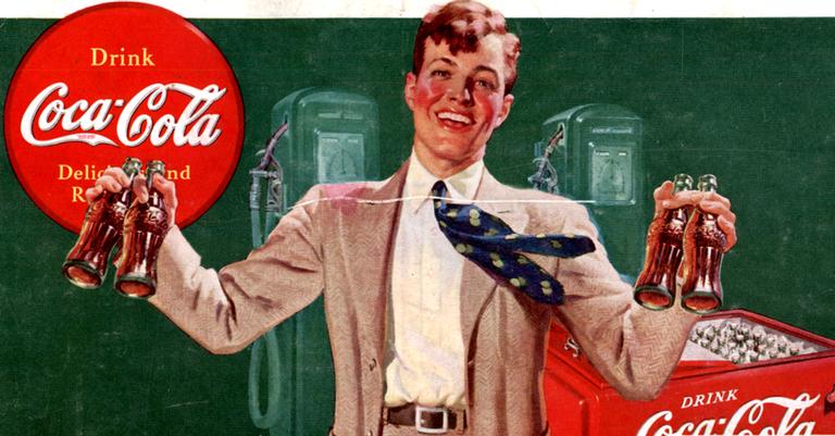 A Coca-Cola, foi uma das grandes pioneiras no ramo