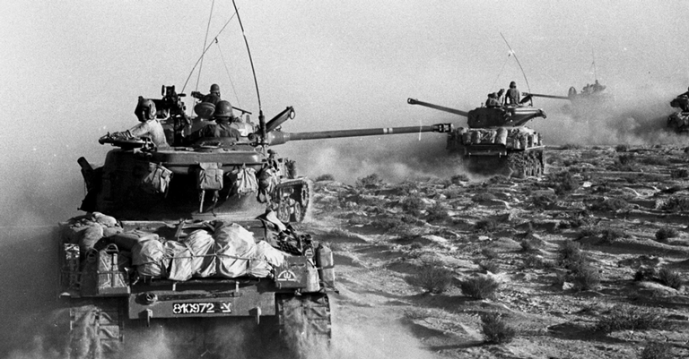 Guerra do Yom Kippur foi um dos desdobramentos da Guerra dos Seis Dias