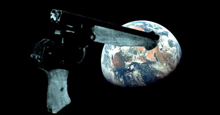 A pistola dos cosmonautas
