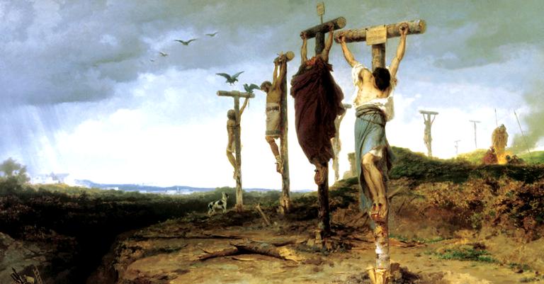 Era um método de tortura comum na era romana