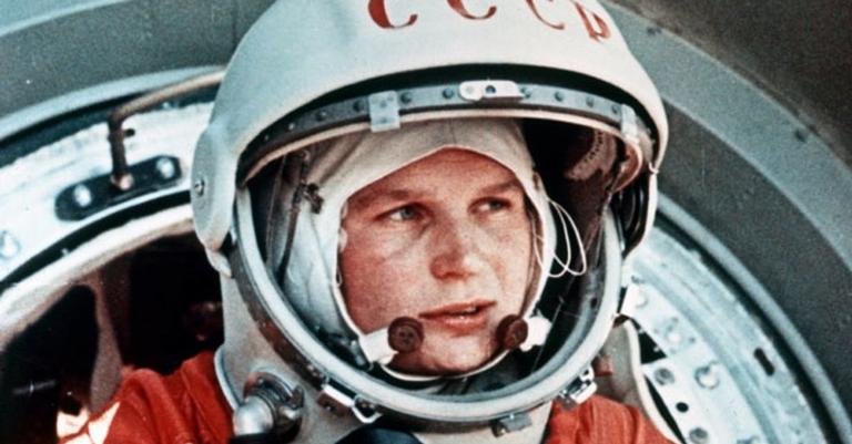 Valentina Tereshkova, a primeira mulher viajar para o espaço