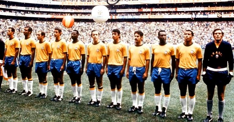 A seleção brasileira de 1970